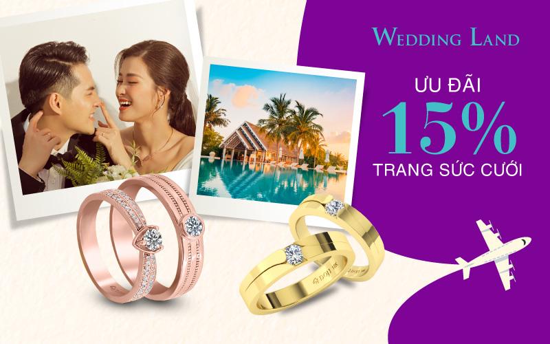 Wedding Land ưu đãi 15% và cơ hội nhận kỳ nghỉ trăng mật 5 sao trị giá 30 triệu - Ảnh 4.