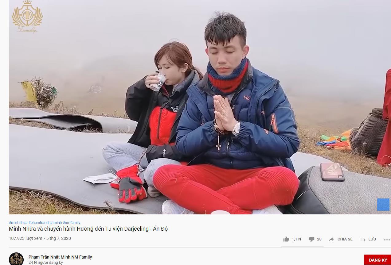 """Vợ chồng Minh Nhựa – Mina """"đánh chiếm"""" Youtube với những clip cực đầu tư - Ảnh 4."""