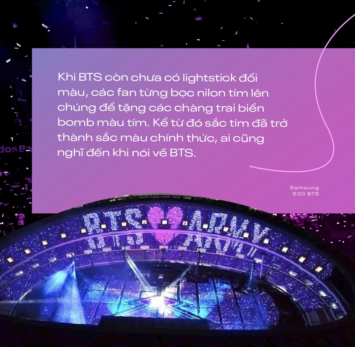 I Purple You - từ câu nói nổi tiếng dành riêng cho ARMY đến màu tím chỉ biểu trưng cho BTS - Ảnh 3.