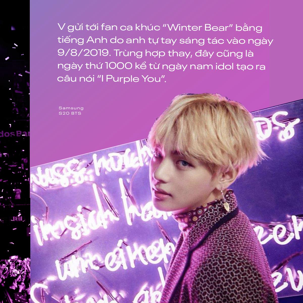 I Purple You - từ câu nói nổi tiếng dành riêng cho ARMY đến màu tím chỉ biểu trưng cho BTS - Ảnh 7.