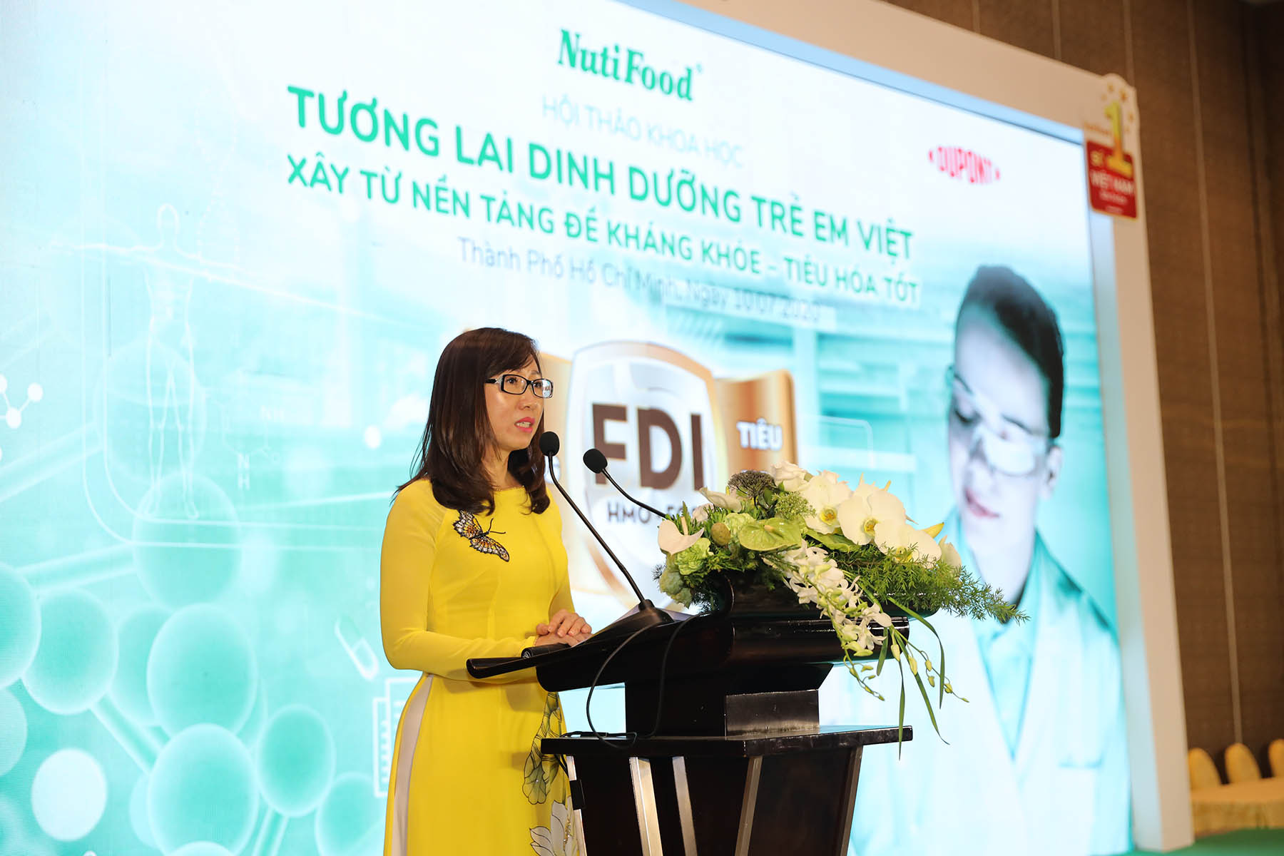 """Chiếm 22% thị phần, NutiFood đón nhận danh hiệu Nhãn hàng Sữa trẻ em số 1 Việt Nam"""" - Ảnh 1."""