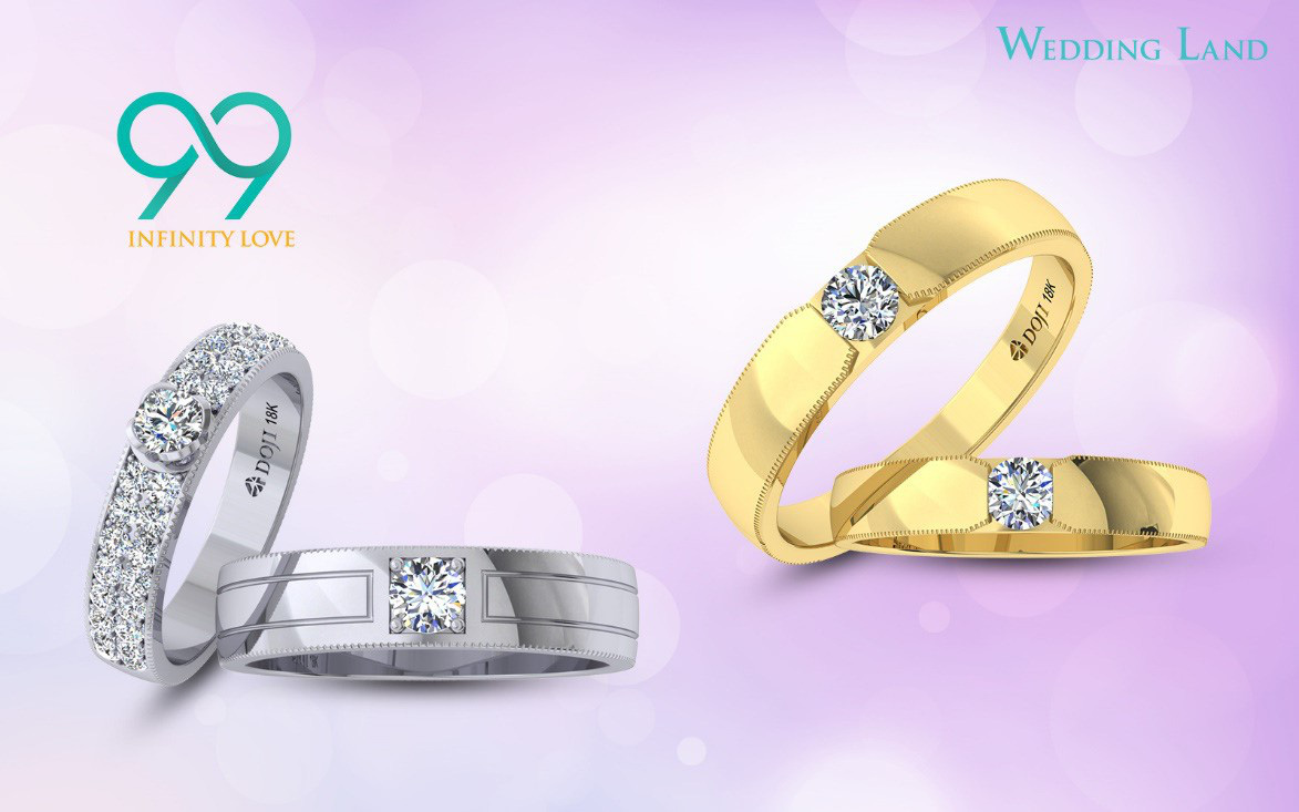 Đón đầu xu hướng nhẫn cưới kim cương 99 giác cắt - Ảnh 2.