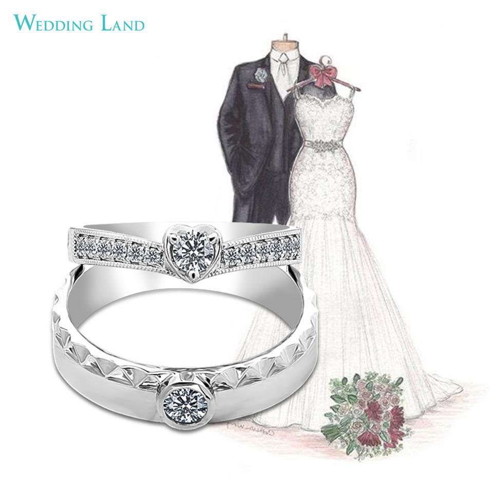Đón đầu xu hướng nhẫn cưới kim cương 99 giác cắt - Ảnh 3.