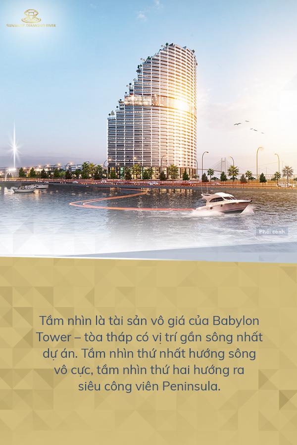 Trải nghiệm phong cách sống giữa tầng không tại Babylon Tower - Ảnh 2.