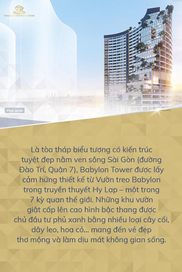 Trải nghiệm phong cách sống giữa tầng không tại Babylon Tower - Ảnh 1.