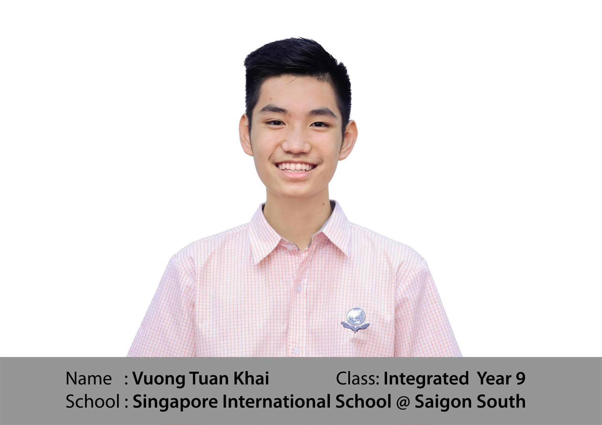 Bí quyết giỏi tiếng Anh của nam sinh trường Quốc tế Singapore - Ảnh 1.