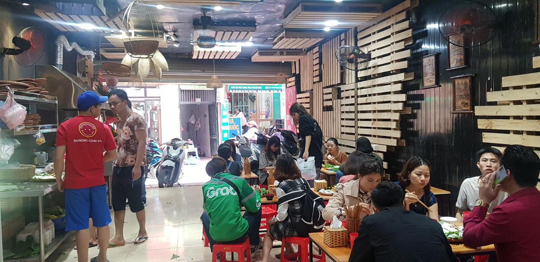 Địa chỉ cho hội sành ăn - Bún đậu mắm tôm Trần Thái Tông - Ảnh 1.