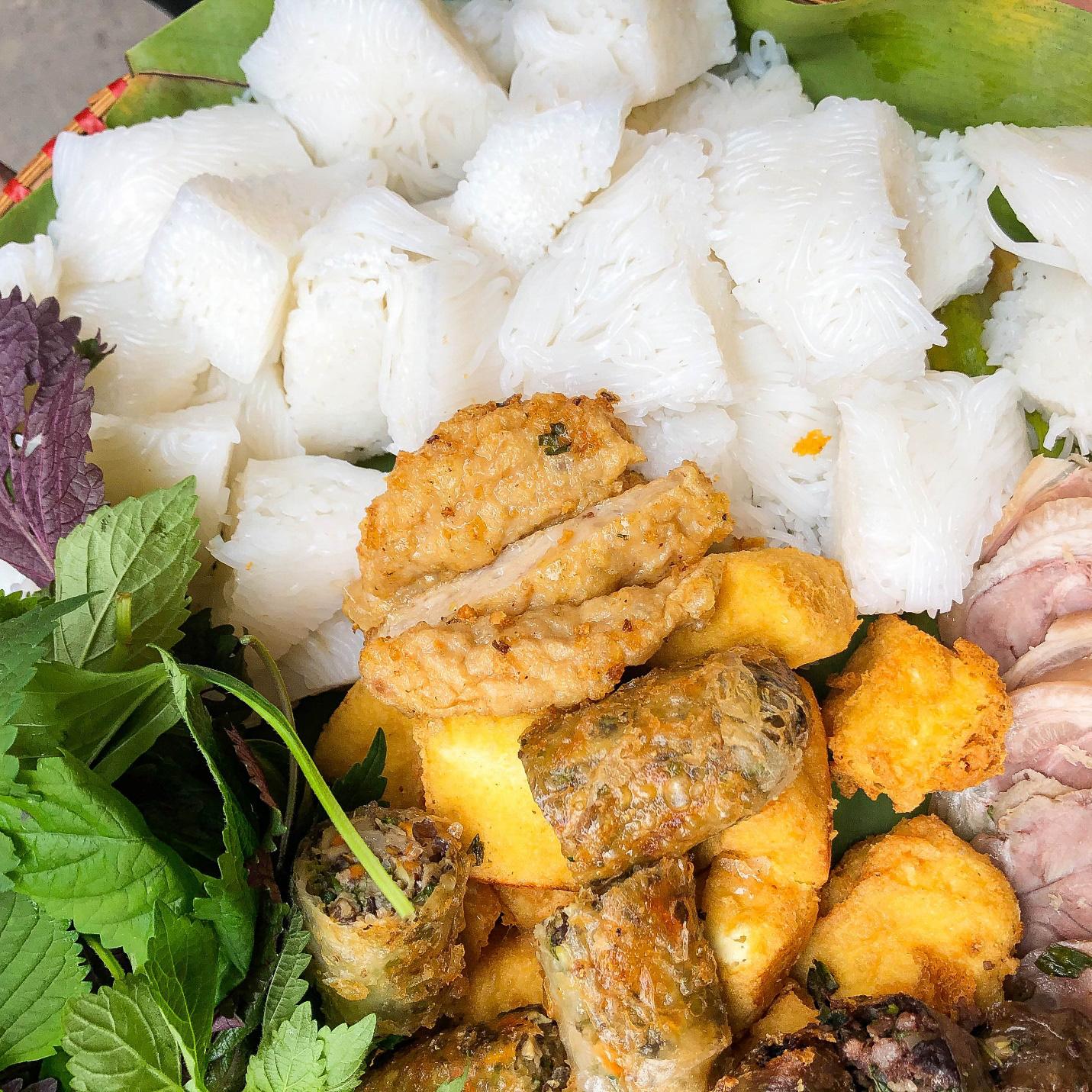 Địa chỉ cho hội sành ăn - Bún đậu mắm tôm Trần Thái Tông - Ảnh 2.