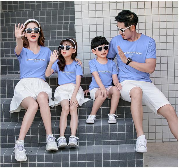 Cùng đồng phục Gạo House mix & match áo gia đình cực chất cho hè 2020 - Ảnh 3.