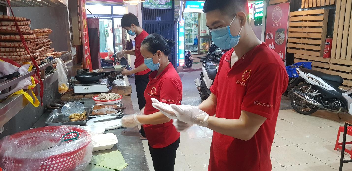 Địa chỉ cho hội sành ăn - Bún đậu mắm tôm Trần Thái Tông - Ảnh 4.