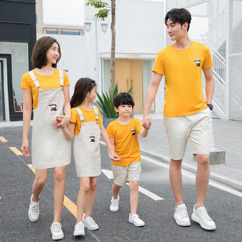Cùng đồng phục Gạo House mix & match áo gia đình cực chất cho hè 2020 - Ảnh 5.