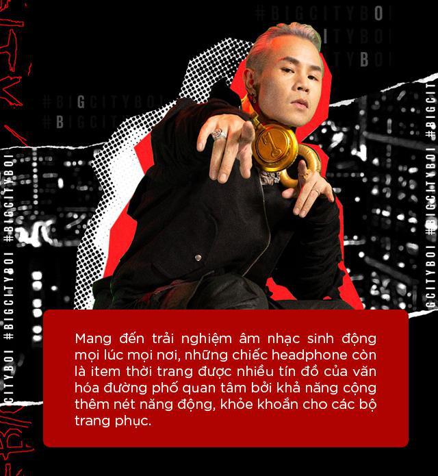Tai nghe, vòng cổ và sneaker to bản: Những item gắn liền với thời trang underground - Ảnh 3.