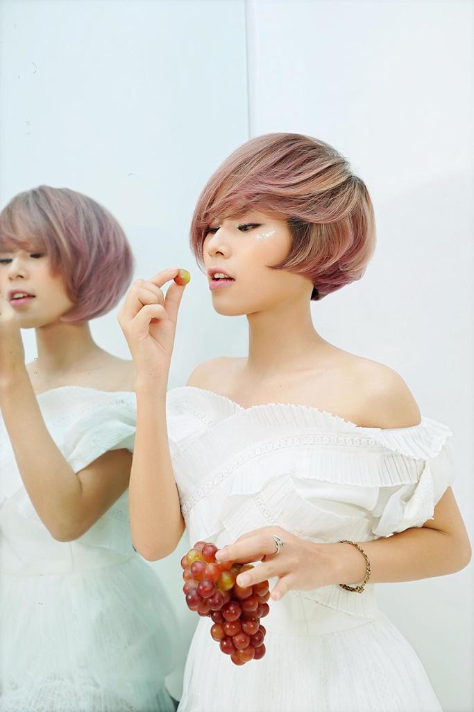 """""""Rực rỡ như trái cây, ngọt ngào như trà sữa"""": Chọn màu tóc này, các nàng hứa hẹn tỏa sáng cả mùa hè - Ảnh 4."""