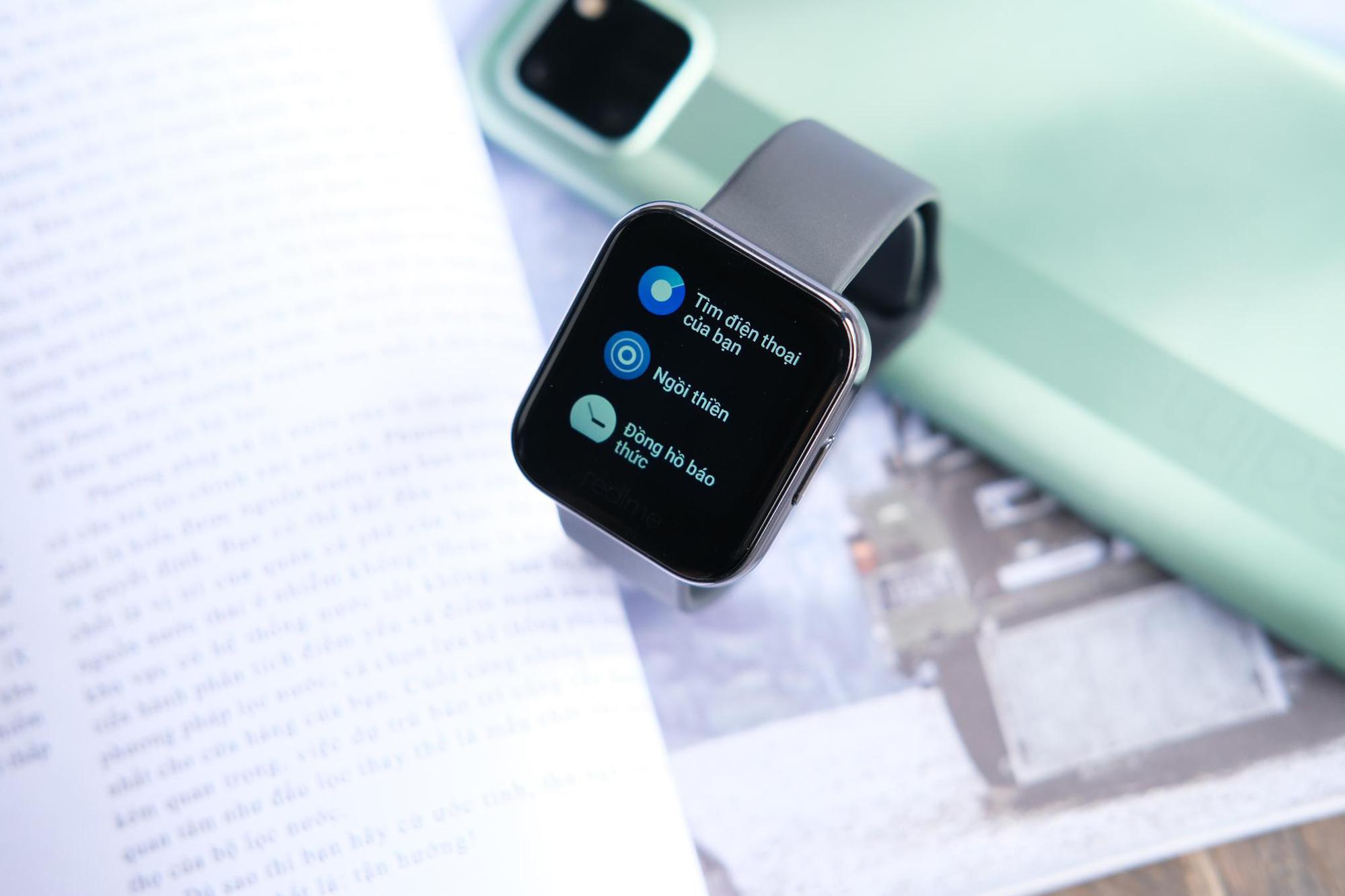 """""""Tất tần tật"""" về cách dùng chiếc Realme Watch giá chỉ 1,99 triệu đồng - Ảnh 4."""