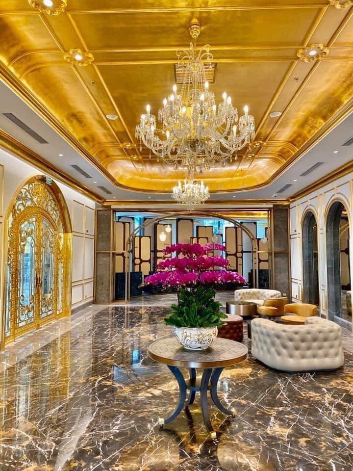 Chương trình khuyến mãi hấp dẫn của khách sạn dát vàng 8 sao Dolce Hanoi Golden lake - Ảnh 4.