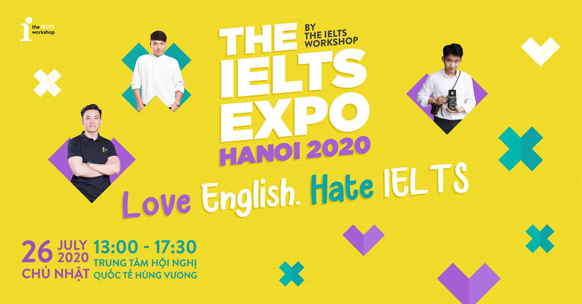 Sự kiện đình đám The IELTS EXPO của The IELTS Workshop tái xuất tại Hà Nội - Ảnh 1.