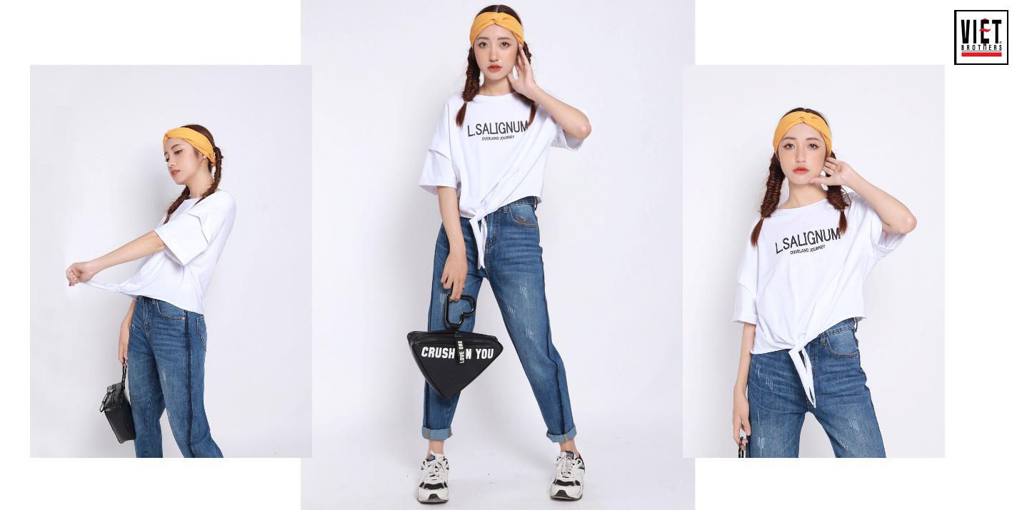 Bỏ túi tuyệt chiêu phối đồ sành điệu cùng quần jeans - Ảnh 4.