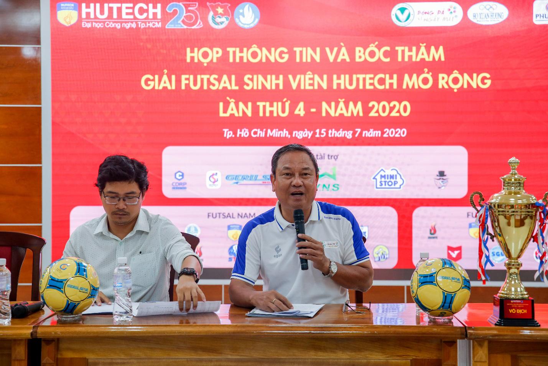 19 trường Đại học, Cao đẳng tranh cúp Futsal Sinh viên HUTECH mở rộng lần 4 - 2020 - Ảnh 2.