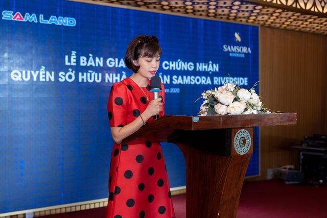 Cư dân Samsora chính thức nhận sổ hồng từ chủ đầu tư Samland - Ảnh 2.