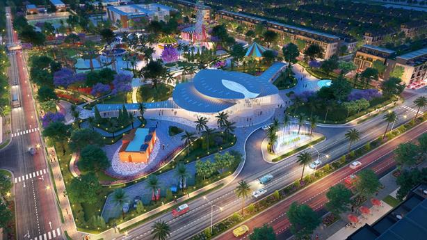 Tưng bừng khai trương showroom dự án Gem Sky World tại Hà Nội - Ảnh 1.