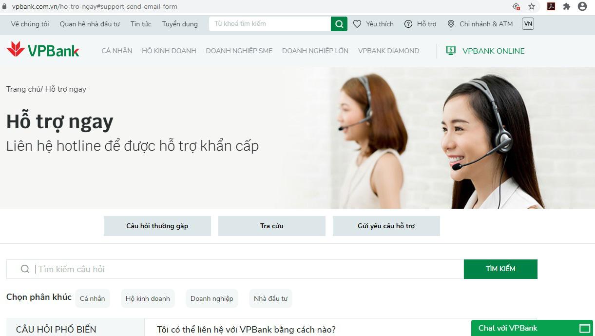 """Hé mở những """"bí mật"""" về công nghệ tại website mới của VPBank - Ảnh 3."""