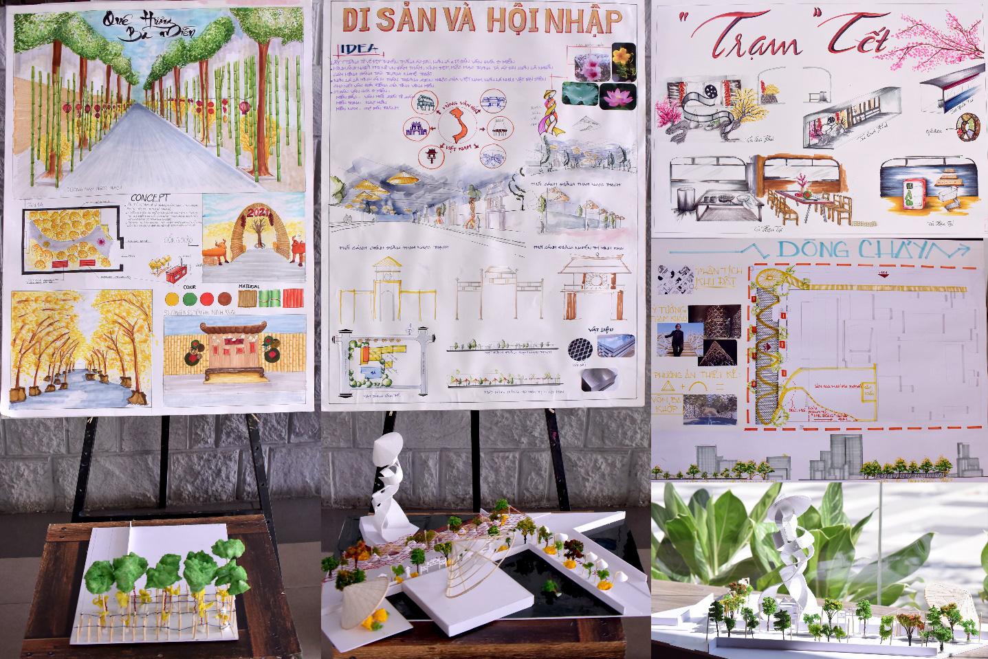 Lần đầu tiên Nhà Văn hóa Thanh niên cộng tác cùng sinh viên ĐH Văn Lang thực hiện Lễ hội Tết Việt - Ảnh 3.