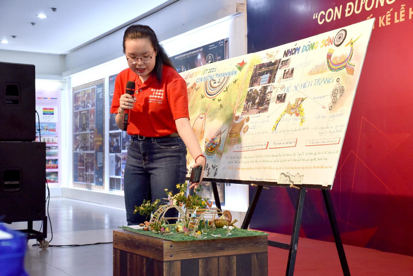 Lần đầu tiên Nhà Văn hóa Thanh niên cộng tác cùng sinh viên ĐH Văn Lang thực hiện Lễ hội Tết Việt - Ảnh 4.