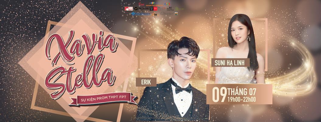 Erik, Suni Hạ Linh trình diễn loạt hit khủng tại sự kiện Prom của học sinh FPT - Ảnh 1.