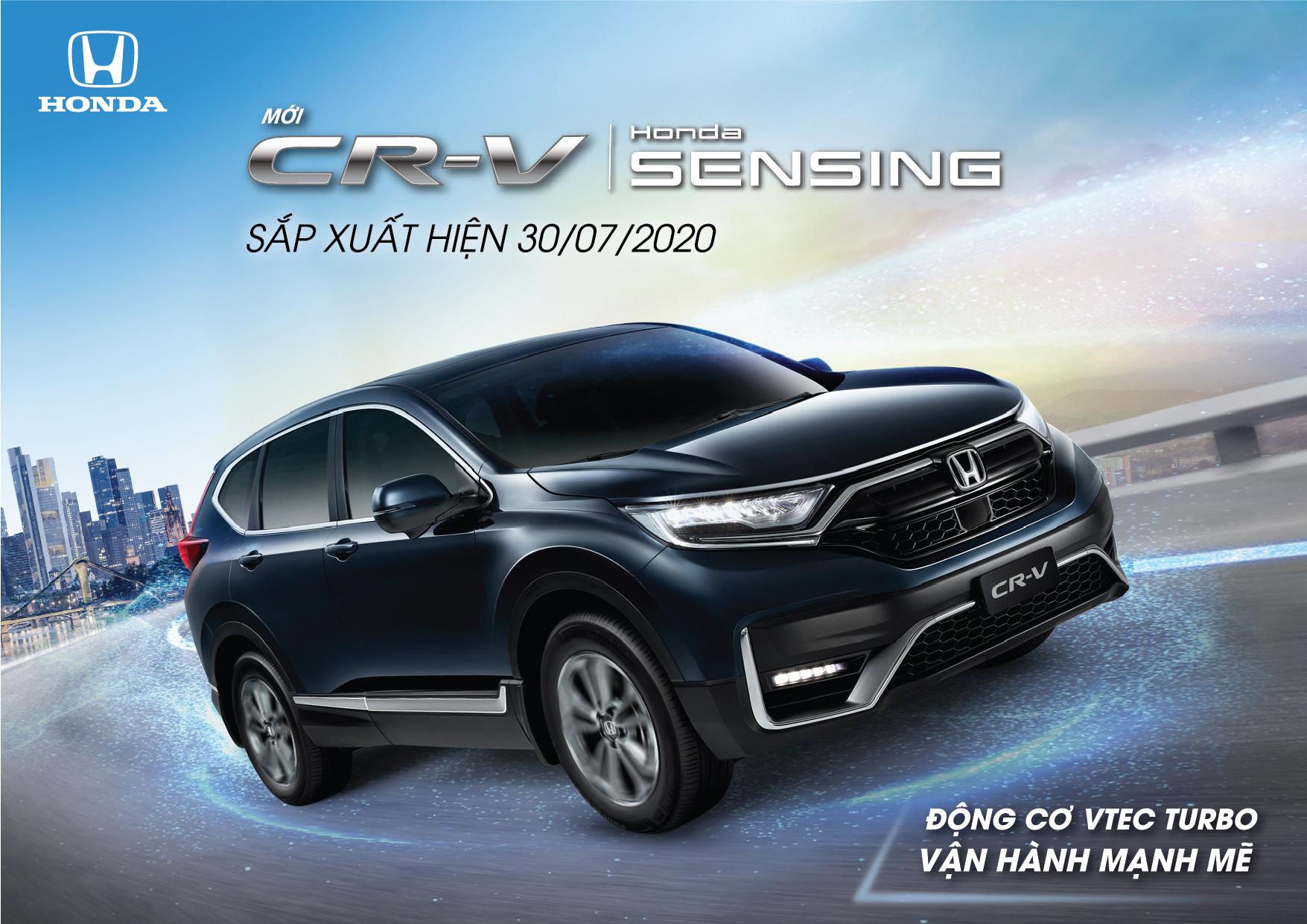 Phiên bản mới Honda CR-V 2020 sắp ra mắt thị trường Việt Nam - Ảnh 1.
