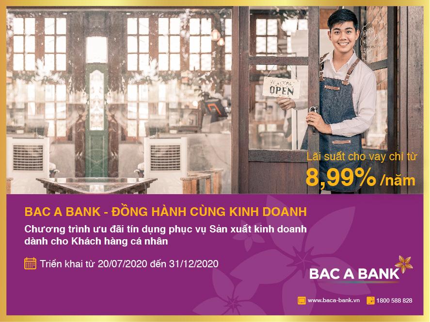 BAC A BANK đồng hành kinh doanh cùng khách hàng cá nhân - Ảnh 1.
