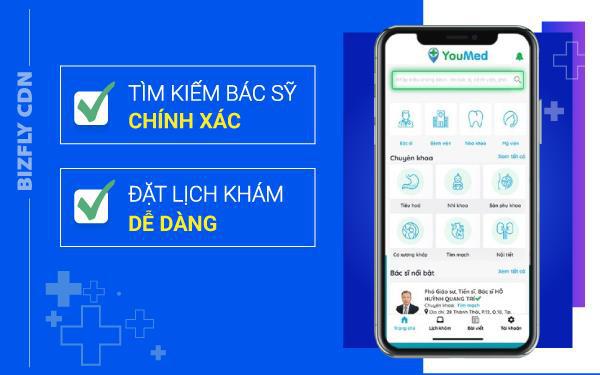 YouMed - Áp dụng CDN trở thành ứng dụng y tế thông minh hàng đầu - Ảnh 1.