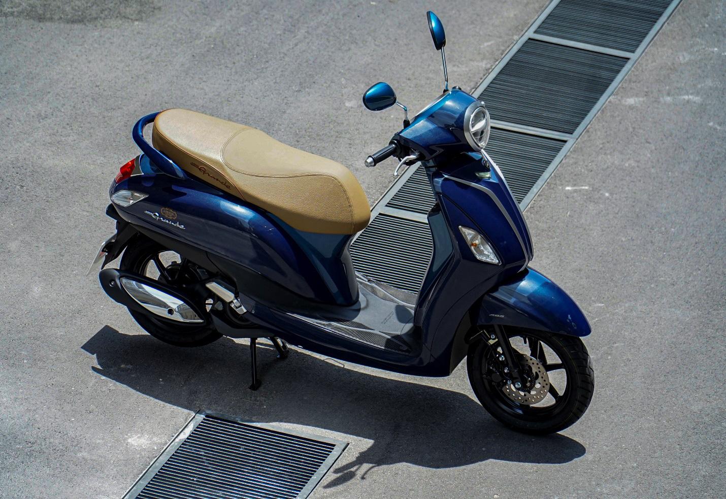 """Đánh giá Yamaha Grande – Có xứng danh """"nữ hoàng"""" xe tay ga tiết kiệm nhiên liệu số 1 Việt Nam? - Ảnh 1."""