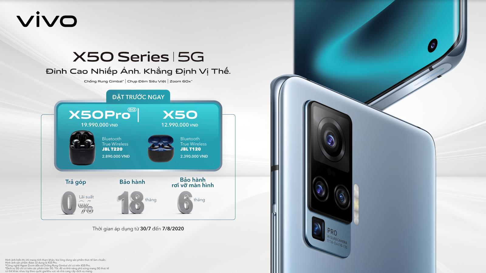 vivo X50 và vivo X50 Pro chính thức ra mắt tại Việt Nam: Camera Gimbal, chụp đêm siêu việt giá 12,99 và 19,99 triệu đồng cho hai phiên bản - Ảnh 5.