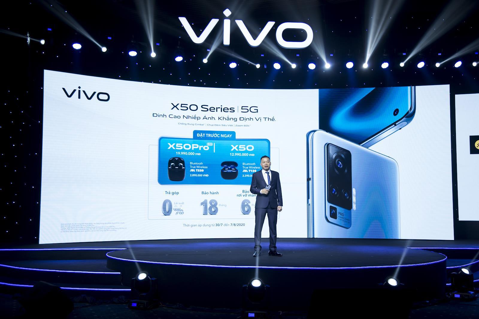 vivo X50 và vivo X50 Pro chính thức ra mắt tại Việt Nam: Camera Gimbal, chụp đêm siêu việt giá 12,99 và 19,99 triệu đồng cho hai phiên bản - Ảnh 6.