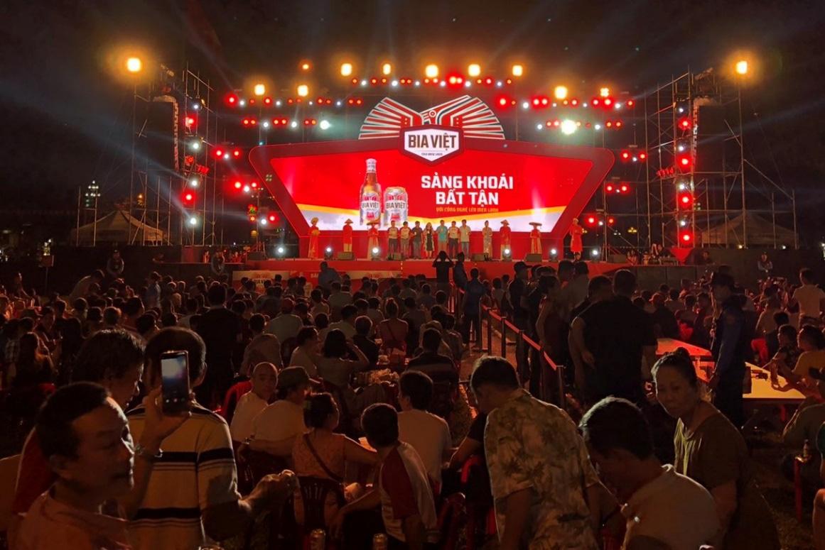 """Lễ hội """"Tự Hào Chất Việt"""" cùng Bia Việt: Cuộc vui chung cho chiến hữu 3 miền - Ảnh 1."""
