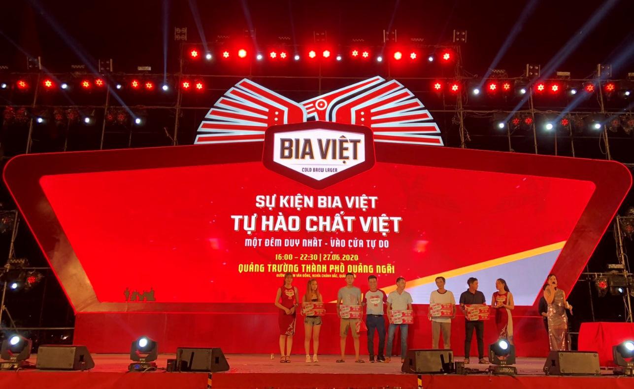 """Lễ hội """"Tự Hào Chất Việt"""" cùng Bia Việt: Cuộc vui chung cho chiến hữu 3 miền - Ảnh 4."""