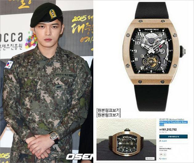 Soi cổ tay sao Hàn: Toàn đồng hồ tiền tỉ đẳng cấp - Ảnh 1.