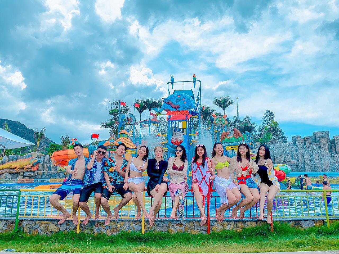 Điểm đến giải nhiệt mùa hè không thể bỏ qua của giới trẻ tại công viên nước Thanh Long Water Park An Giang - Ảnh 2.