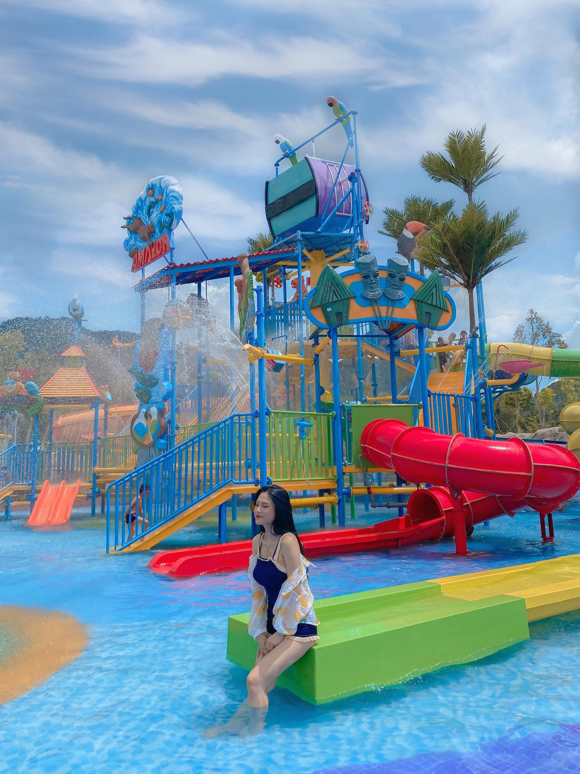 Điểm đến giải nhiệt mùa hè không thể bỏ qua của giới trẻ tại công viên nước Thanh Long Water Park An Giang - Ảnh 5.