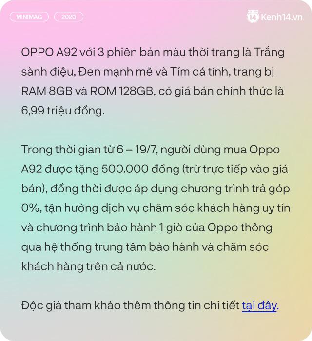 Đánh giá OPPO A92 dưới góc nhìn 1 TikToker - Ảnh 24.