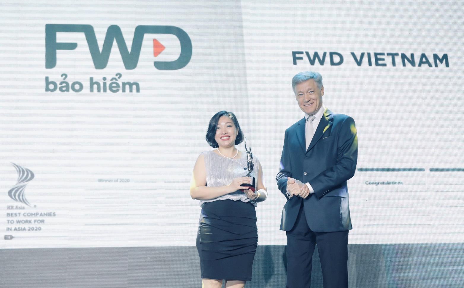 FWD được HR Asia vinh danh là nơi làm việc tốt nhất châu Á 2020 - Ảnh 1.
