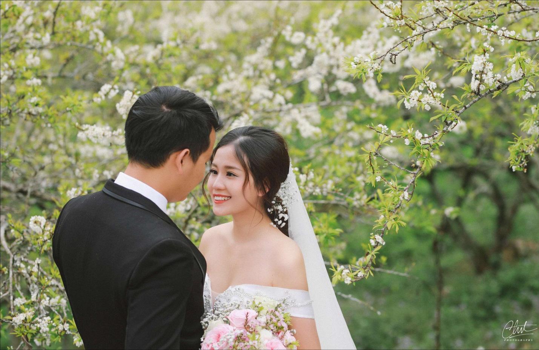 Bộ ảnh cưới 4 mùa bên nhau và cái kết viên mãn của 9 năm thanh xuân - Ảnh 2.