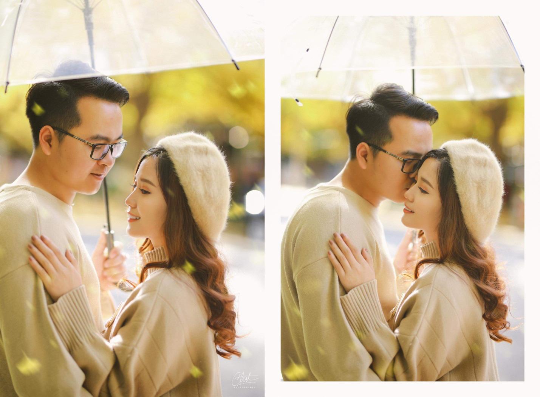 Bộ ảnh cưới 4 mùa bên nhau và cái kết viên mãn của 9 năm thanh xuân - Ảnh 12.