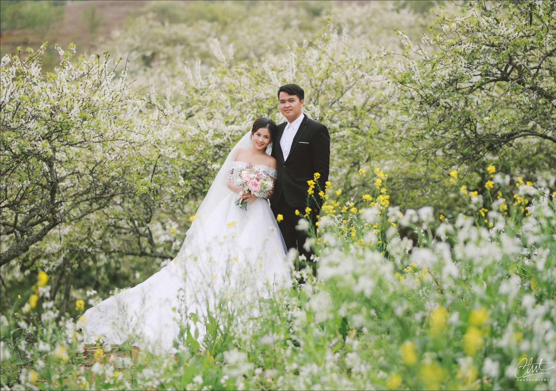 Bộ ảnh cưới 4 mùa bên nhau và cái kết viên mãn của 9 năm thanh xuân - Ảnh 1.
