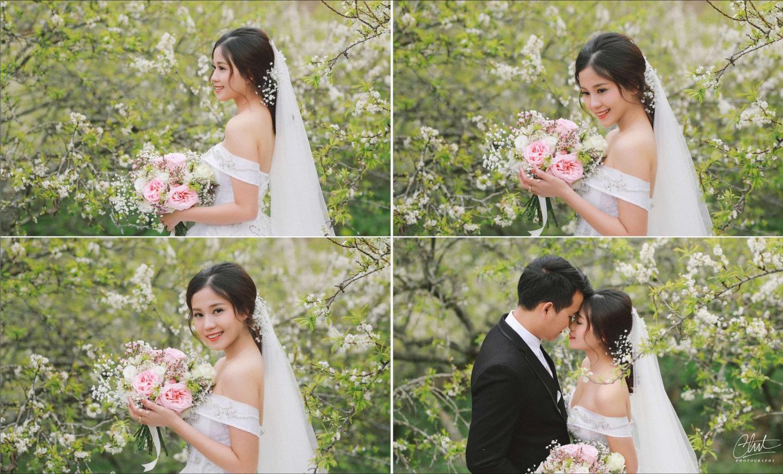 Bộ ảnh cưới 4 mùa bên nhau và cái kết viên mãn của 9 năm thanh xuân - Ảnh 3.