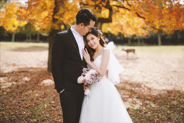 Bộ ảnh cưới 4 mùa bên nhau và cái kết viên mãn của 9 năm thanh xuân - Ảnh 9.