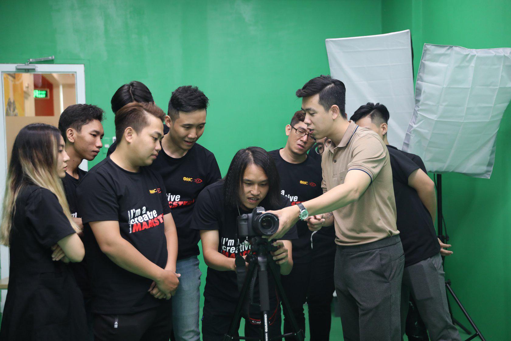 Bài thi Cinegraphy: Gia nhập thế giới điện ảnh cùng MAAC - Ảnh 2.