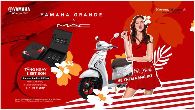 """Yamaha tung ưu đãi """"Xe đẹp môi xinh, hè thêm rạng rỡ"""" khiến tín đồ làm đẹp hào hứng săn lùng - Ảnh 5."""