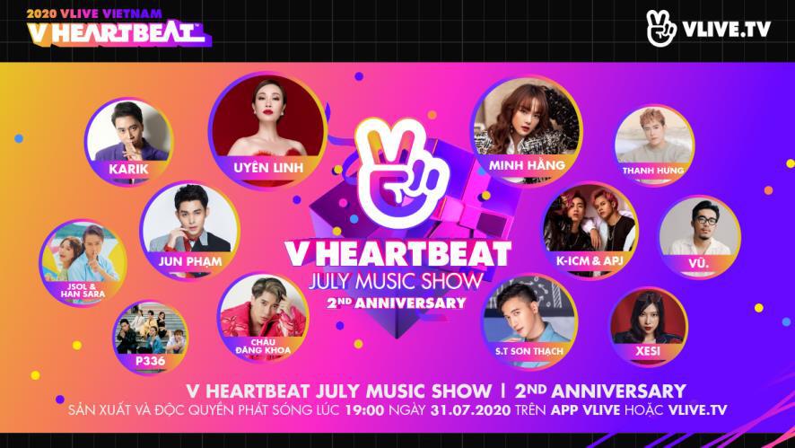 VTVcab sẽ hợp tác với Naver Việt Nam tổ chức và phát sóng V Heartbeat Live - Ảnh 2.