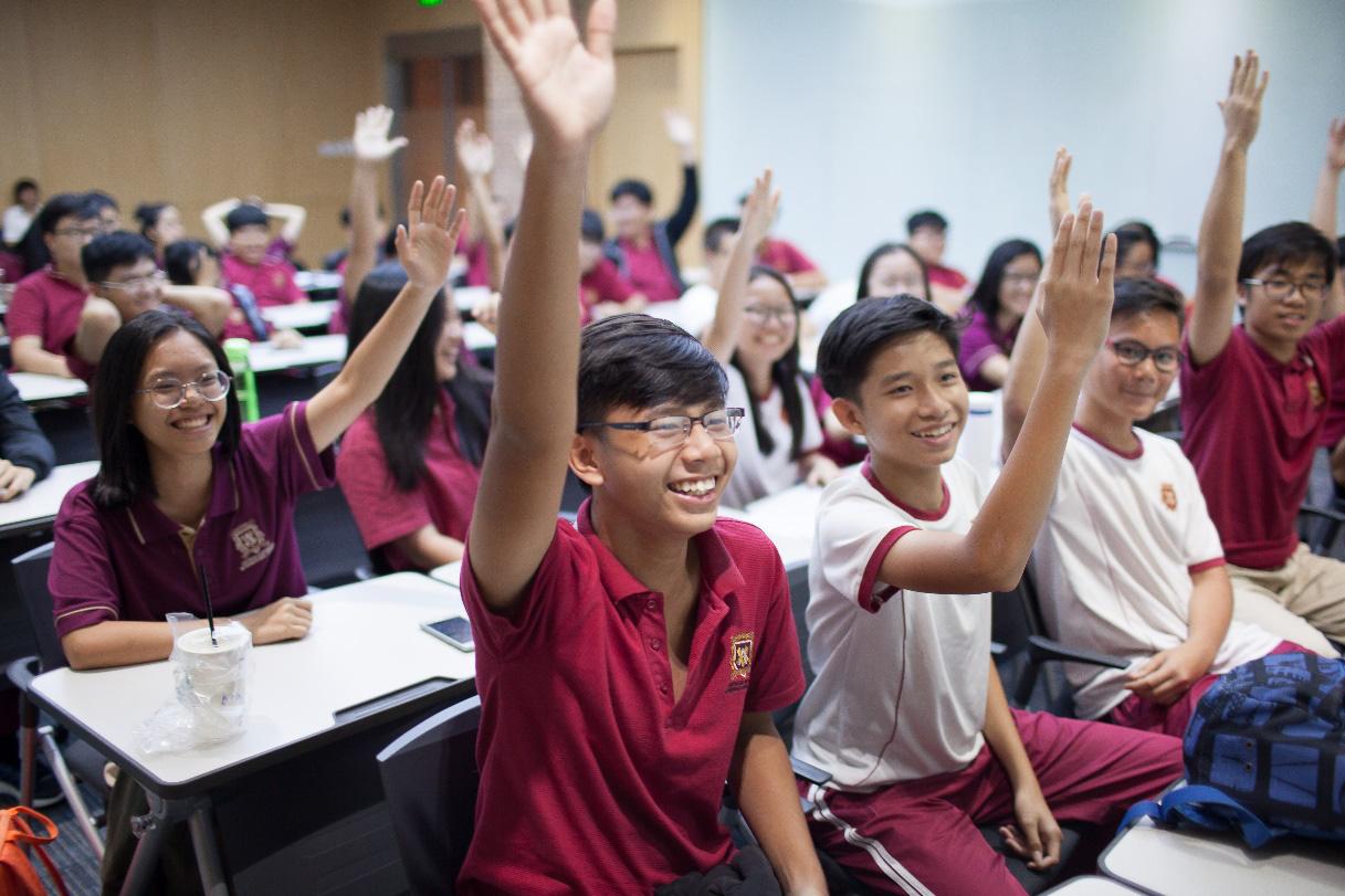 Học kinh tế, tập làm kinh doanh từ bậc Trung học tại VAS - Ảnh 1.